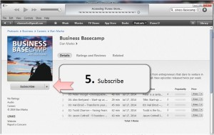 Step 5: How to leave itunes rating and review