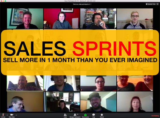 Sales Sprint Zoom Banner